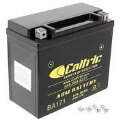 Agm Battery For Can-am Bombardier Maverick Max 1000r 4x4 2014 2015 2016 2017