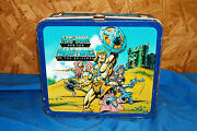 1984 He-man And The Masters Of The Universe Metal Lunchbox Aladdin Mattel Toy 84