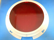 3207r Red Lens Carlisle And Finch Filter Searchlight 8 New Old Stock