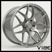 19 Mrr Fs01 Gunmetal Forged Concave Wheels Rims Fits Infiniti G37 G37s Coupe