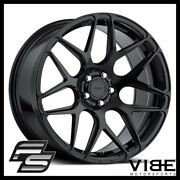 19 Mrr Fs01 Black Flow Forged Concave Wheels Rims Fits Toyota Camry