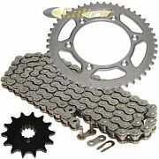 Drive Chain And Sprocket Kit For Suzuki Dr350 1990 1991 1992 1993