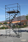 Scaffolding Stairway Case Rolling Tower 5and039 X 7and039 X 14and0392 Deck High Cbm1290