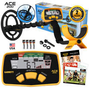 Garrett Ace 200 Metal Detector With 6.5 X 9 Proformance Waterproof Search Coil