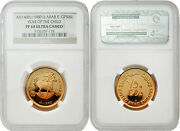 United Arab Emirates 1980 Year Of Child 750d Gold Ngc Pf68 Ultra Cameo