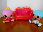 Lalaloopsy Sew Magical Sew Cute Couch And 2 Lalaloopsy Dolls Lot Of 3 Items