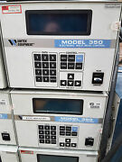 Miyachi Unitek 350 Dc Weld Controller And 302h Electronic Weld Head With Stand.