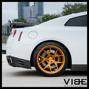 20 Rohana Rfx5 Gold Forged Concave Wheels Rims Fits Nissan Gt-r
