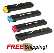 4 Color Toner Cartridges For Xerox Docucolor 240 242 250 252 260 Wc 7655 7665