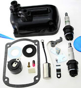 Magneto Points Condenser Rotor Kit Fit Wisconsin Tjd Fmx2b7e X2b7e Y79s1 Y79 J14