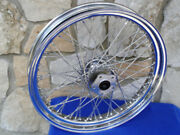 21x3.25 60 Spoke Wheel For Harley Softail Fxst Fxstc And Dyna Wg 1984-99