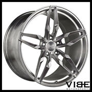 20 Vs Forged Vs03 Brushed Concave Wheels Rims Fits Nissan Altima