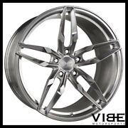 20 Vs Forged Vs03 Brushed Concave Wheels Rims Fits Nissan 350z