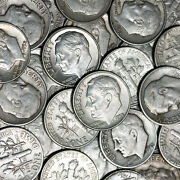 90 Lot Us Junk Silver Coins 1 Pound Lb 16 Oz. Pre 1965 All Dimes Barter With