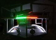 Boat Bow Led Lighting Red And Green Navigation Kit - Xl Size