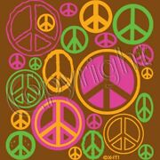 Peace Signs - Neon T Shirt You Choose Style Size Color Up To 4xl 10222