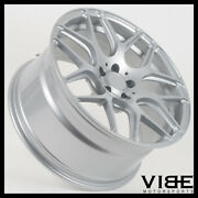 21 Mrr Fs01 Silver Flow Forged Concave Wheels Rims Fits Bmw F10 F11 M5