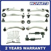 11x Control Arm Arms Ball Joint Tie Rod Suspension Kit Fit For Audi Allroad 2.7