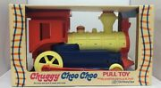 1970and039s Ding Dong Chuggy Chooand039 Choo Plastic Pull Toy The World Of Toys Very Rare