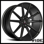 20 Koko Kuture Le Mans Gloss Black Concave Wheels Rims Fits Ford Mustang Gt
