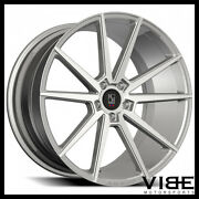 20 Koko Kuture Le Mans Silver Concave Wheels Rims Fits Ford Mustang Gt Gt500