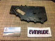 Sma1899 Johnson Evinrude Omc Water Jacket Cover Very Clean 325308 Outboard Motor