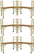 6 Mfs Scaffold Rolling Towers 29w X 6and039h Deck Aka Perry Baker Baby Tower Cbm1290