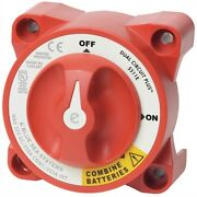 Blue Sea Systems Battery Switch Dual Circuit 350 Amp E-series 5511e Md