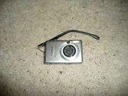Canon Powershot Sd600 6mp Digital Elph Camera With 3x Optical Zoom