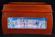Mr Christmas Musical Melodium Music Box Animated Ballet Dancers See Video