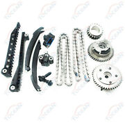 Timing Chain Kit Cam Phaser For 04-08 Ford F150 F-250 Lincoln 5.4l Triton 3-valv