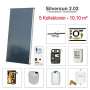 Solarbayer Solar Heating Support + Water Heating With 10 10m Andsup2 Area