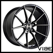 20 Vertini Rf1.2 Forged Black Concave Wheels Rims Fits Ford Mustang Gt Gt500