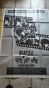 The Beatles Hard Dayand039s Night Official Poster Italy 55x39 Tutti Per Uno Rare
