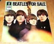 The 'beatles For Sale' Vinyl Mono-1st Issue-germany Odeon-emismo 83790 W Jacket