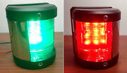 Pactrade Marine Boat Green Starboard And Red Port Side Led Navigation Light