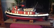 Collectible Pond Tugboat