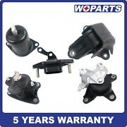 5pcs Engine Motor Auto Trans Mount Fit For 08-11 Honda Accord Acura Tsx 2.4l