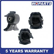 3pc Engine Motor Mount Fit For 2005-2006 Honda Odyssey 3.5l Touring / Ex-l