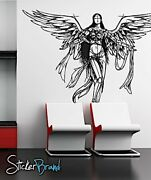 Vinylwall Decal Sticker Angel Drawing Sketch Art 772s