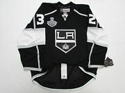 Quick Los Angeles Kings Authentic Home 2014 Stanley Cup Reebok Edge 2.0 Jersey