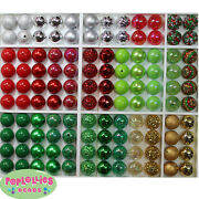 20mm Chunky Beads Lot 120 Count Gum Ball Bubblegum Christmas Holiday