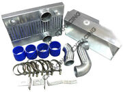 Intercooler Piping Air Shroud Kit For Rx7 Rx-7 Fd Stock Twin Turbo 92-02-blue