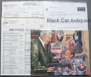 2000 Lionel Classic Model Trains And Accessories Catalog Vol 2. And Order Forms