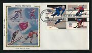 5 Fdcs - 1980 Colorano Silk Winter Olympics First Day Covers Scott S 1795-98
