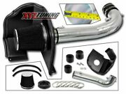 3.5 Black Heat Shield Cold Air Intake+filter For 15-19 Escalade/yukon 5.3l/6.2l
