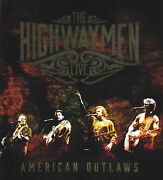 Highwaymen 3 Cd + Blu-ray Live American Outlaws All Regions 5.1 The New