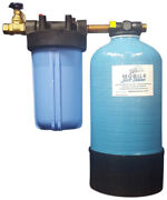 16,000gr Mobile-soft-water-pro-model-portable Water Softener With Salt Caddy