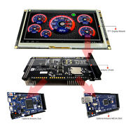 7 Inch Tft Lcd Resistive Touch Ssd1963 Shield For Arduino Duemega 2560 Library