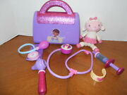 Disney's Doc Mcstuffins Doctor's Bag Play Set With Lambie Doll I.d. 4848